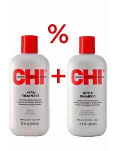 SHAMPOO + CONDITIONER 355 ml CHI INFRA